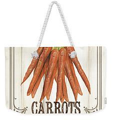 Vintage Fresh Vegetables 3 Weekender Tote Bag by Debbie DeWitt