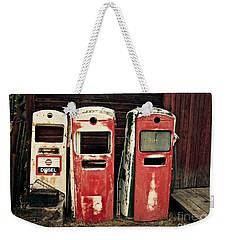 Vintage Gas Pumps Weekender Tote Bag