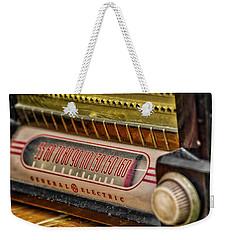 Vintage G.e. Radio Weekender Tote Bag