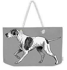 Vintage German Shorthaired Pointer Weekender Tote Bag