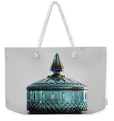 Vintage Glass Candy Jar Weekender Tote Bag