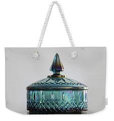 Vintage Glass Candy Jar Weekender Tote Bag