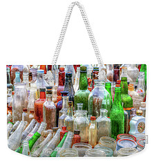 Vintage Glass Weekender Tote Bag