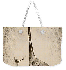 Vintage Golf Artwork Weekender Tote Bag