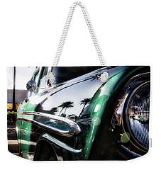 Vintage Green Weekender Tote Bag