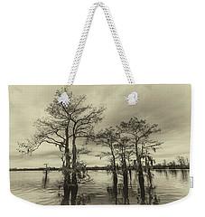 Vintage Henderson Swamp  Weekender Tote Bag by Andy Crawford
