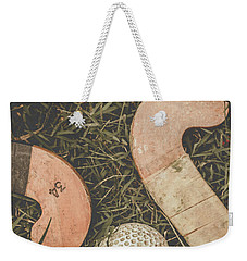 Weekender Tote Bag featuring the photograph Vintage Hockey by Jorgo Photography - Wall Art Gallery