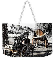 Vintage Horse Drawn Cart Weekender Tote Bag