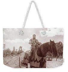 Vintage Knight Weekender Tote Bag