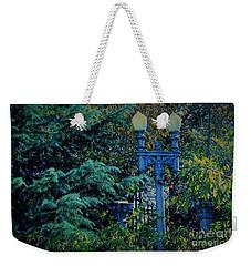 Vintage Lamppost Tucked Away Weekender Tote Bag