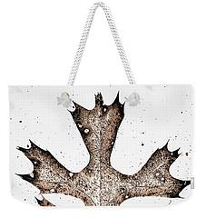 Vintage Leaf Weekender Tote Bag
