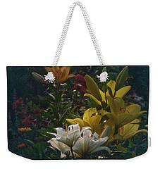Vintage Lily Land Weekender Tote Bag