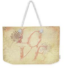 Vintage Love Weekender Tote Bag by Caitlyn Grasso