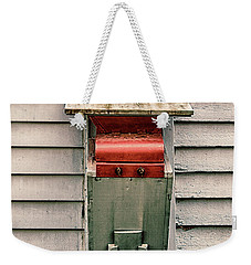 Weekender Tote Bag featuring the photograph Vintage Mailbox by Gary Slawsky