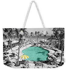 Vintage Miami Weekender Tote Bag