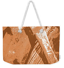 Vintage Miners Hammer Artwork Weekender Tote Bag