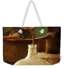 Vintage Moonshine Still Weekender Tote Bag by Jill Battaglia