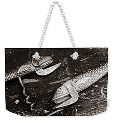 Weekender Tote Bag featuring the photograph Vintage Openers  by Andrey  Godyaykin