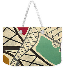 Vintage Paris Cabaret Weekender Tote Bag