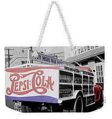 Vintage Pepsi Truck Weekender Tote Bag
