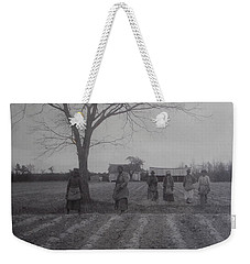 Vintage Photograph 1902 New Bern North Carolina Sharecroppers Weekender Tote Bag