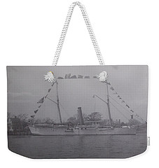 Vintage Photograph Usrc Boutwell New Bern Nc Weekender Tote Bag