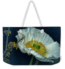 Vintage Poppy 2017 No. 2 Weekender Tote Bag