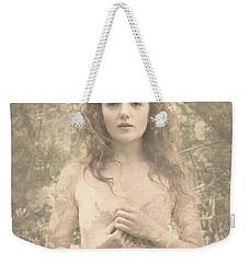 Vintage Portrait Weekender Tote Bag