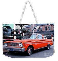 Vintage Red Ford Ranchero Weekender Tote Bag