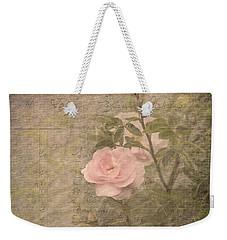 Vintage Rose Poster Weekender Tote Bag