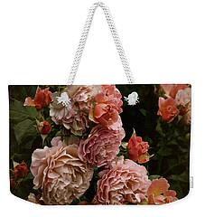 Vintage Roses, 6.17 Weekender Tote Bag