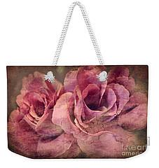 Vintage Roses - Deep Pink Weekender Tote Bag