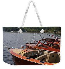 Vintage Row Weekender Tote Bag