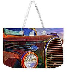 Vintage Rust N Colors Weekender Tote Bag