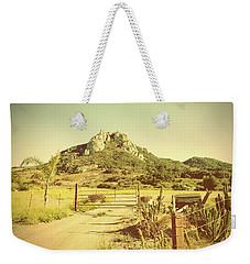 Vintage San Luis Obispo California Seven Sisters  Weekender Tote Bag