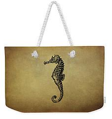 Vintage Seahorse Illustration Weekender Tote Bag