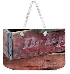 Vintage Soda Crates Weekender Tote Bag