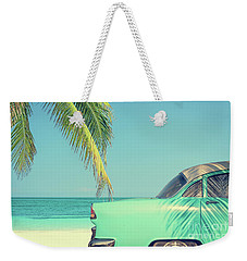 Weekender Tote Bag featuring the photograph Vintage Summer by Delphimages Photo Creations