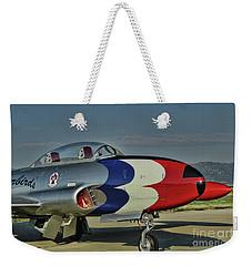 Vintage Thunderbird Weekender Tote Bag