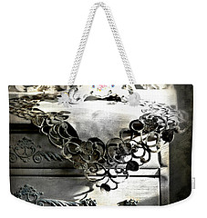 Weekender Tote Bag featuring the photograph Vintage Time by Diana Angstadt