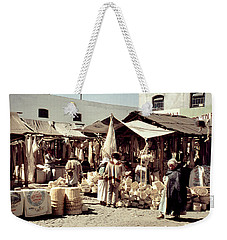 Weekender Tote Bag featuring the photograph Vintage Toluca Mexico Market by Marilyn Hunt