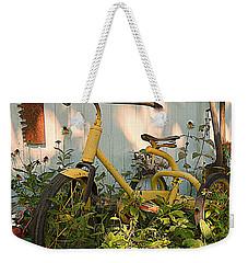 Vintage Tricycle Weekender Tote Bag