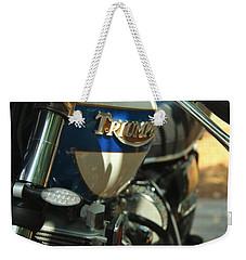 Vintage Triumph  Weekender Tote Bag
