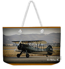 Vintage Two Seater Weekender Tote Bag
