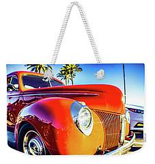 Vintage Vibrance Weekender Tote Bag