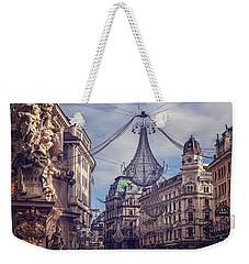 Vintage Vienna Weekender Tote Bag by Carol Japp