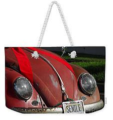 Vintage Volkswagen Weekender Tote Bag