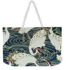 Vintage Wallpaper Design Weekender Tote Bag
