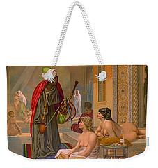 Vintage Whiskey Ad 1883 Weekender Tote Bag