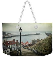 Vintage Whitby Weekender Tote Bag